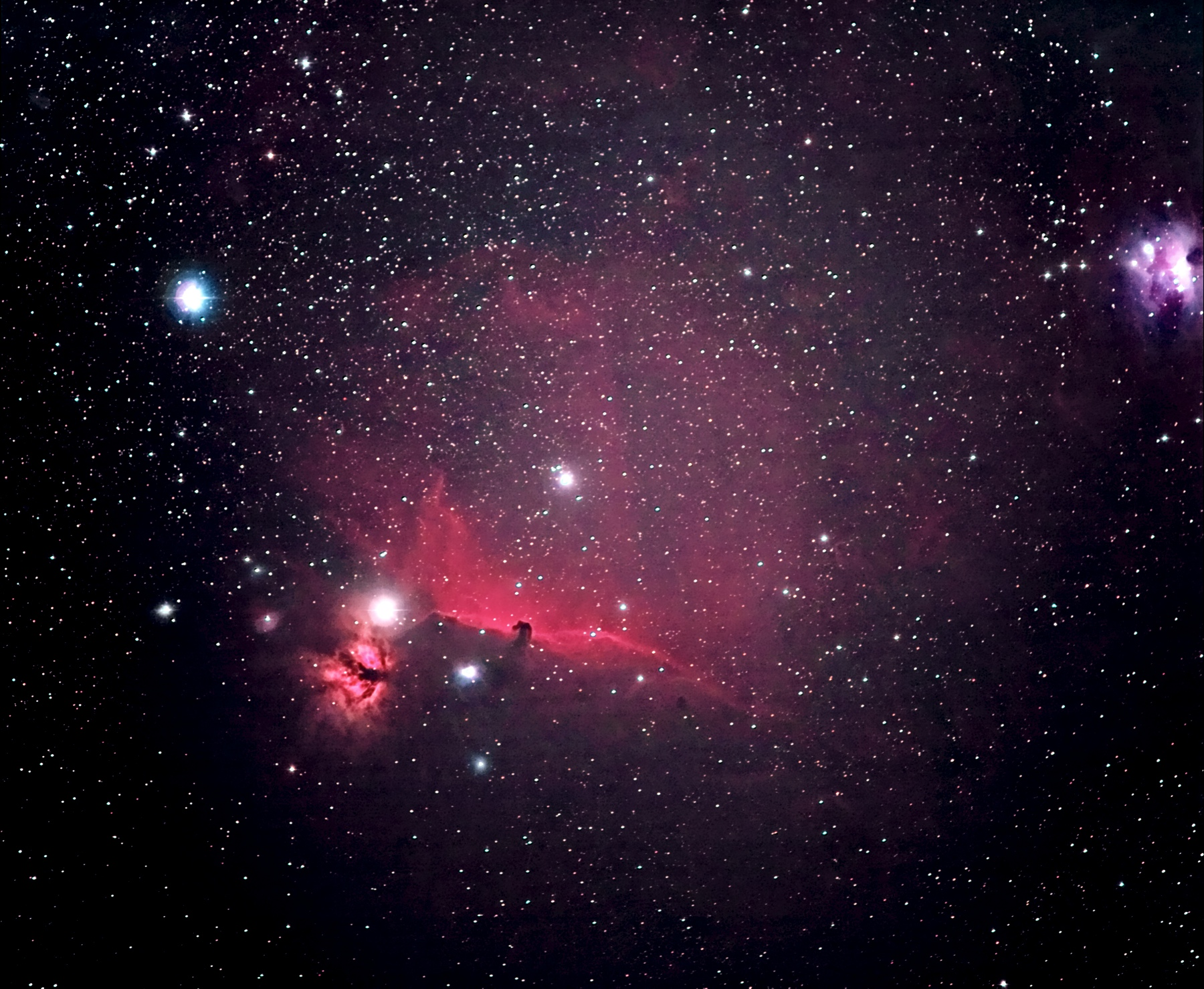 Horse Nebula Information - Pics about space